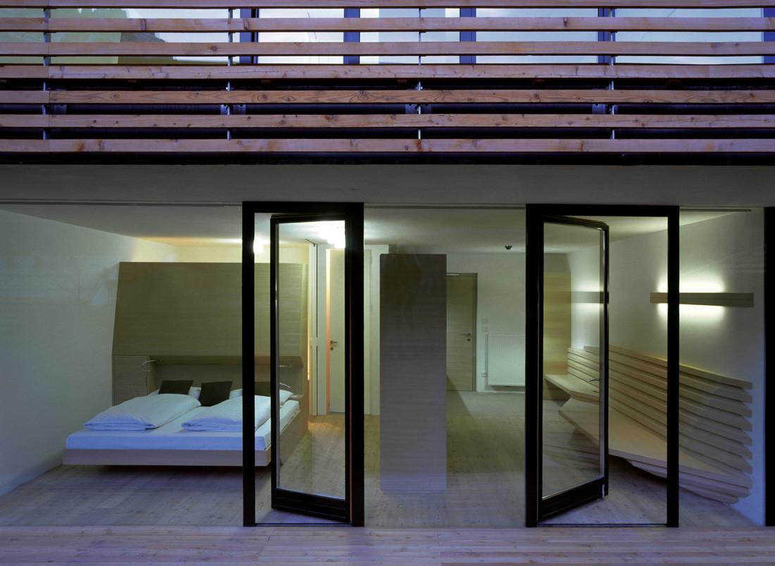 500f10de28ba0d0cc70018ff Hotel Strata Plasma Studio Image on Modern House Exterior Design