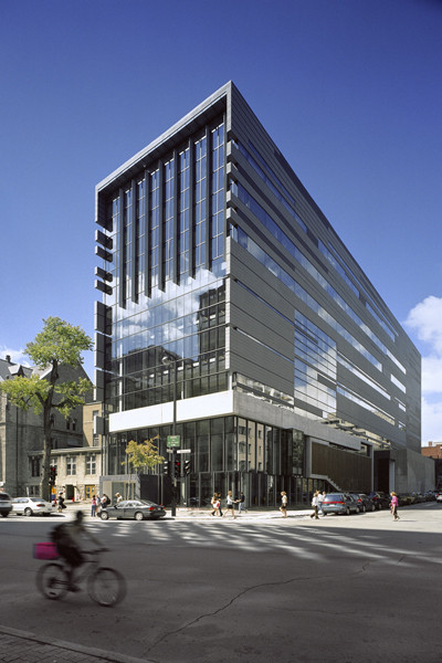 New Pavilion for the McGill University Schulich School of Music / Saucier + Perrotte architectes