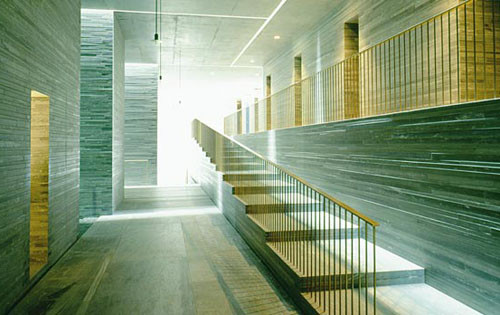 The therme vals peter zumthor archdaily for Design hotel vals