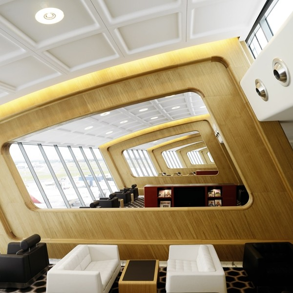 Qantas Sydney First Lounge / Marc Newson
