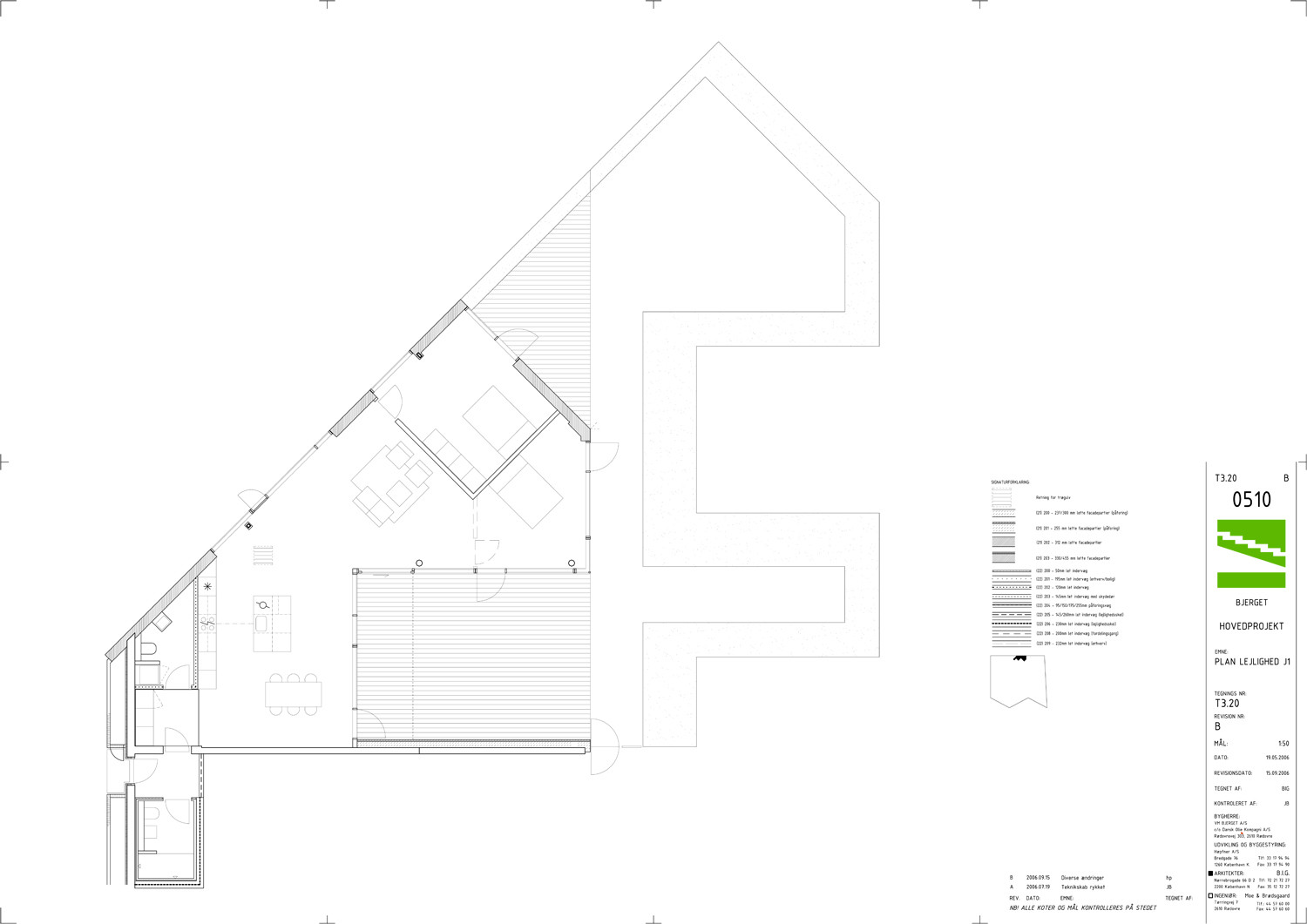 Gallery of mountain dwellings plot big jds 27 for Mountain architecture floor plans