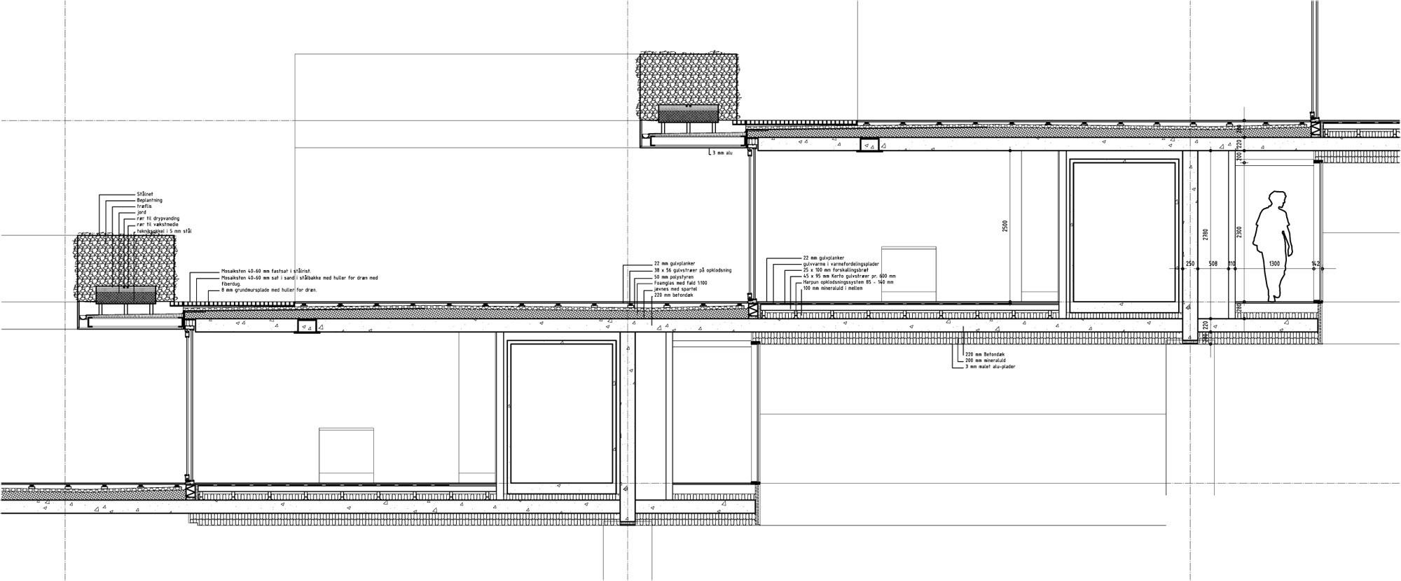 Gallery of mountain dwellings plot big jds 41 for Mountain architecture floor plans