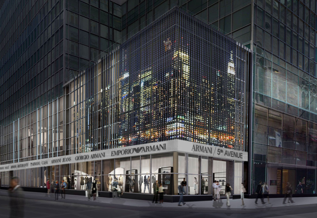 Armani Fifth Ave. / Massimiliano & Doriana Fuksas
