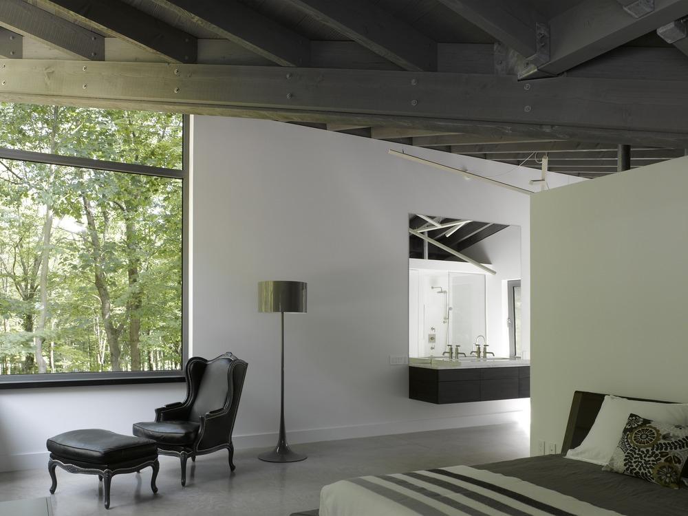 Gallery of bromont house paul bernier architecte 24 - Canada maison close ...