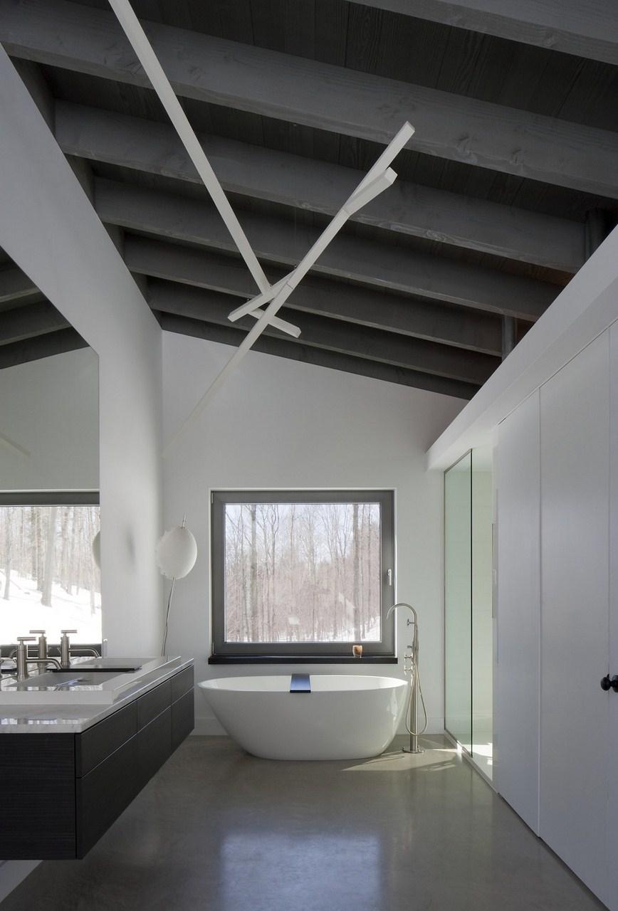 Gallery of bromont house paul bernier architecte 28 - Canada maison close ...