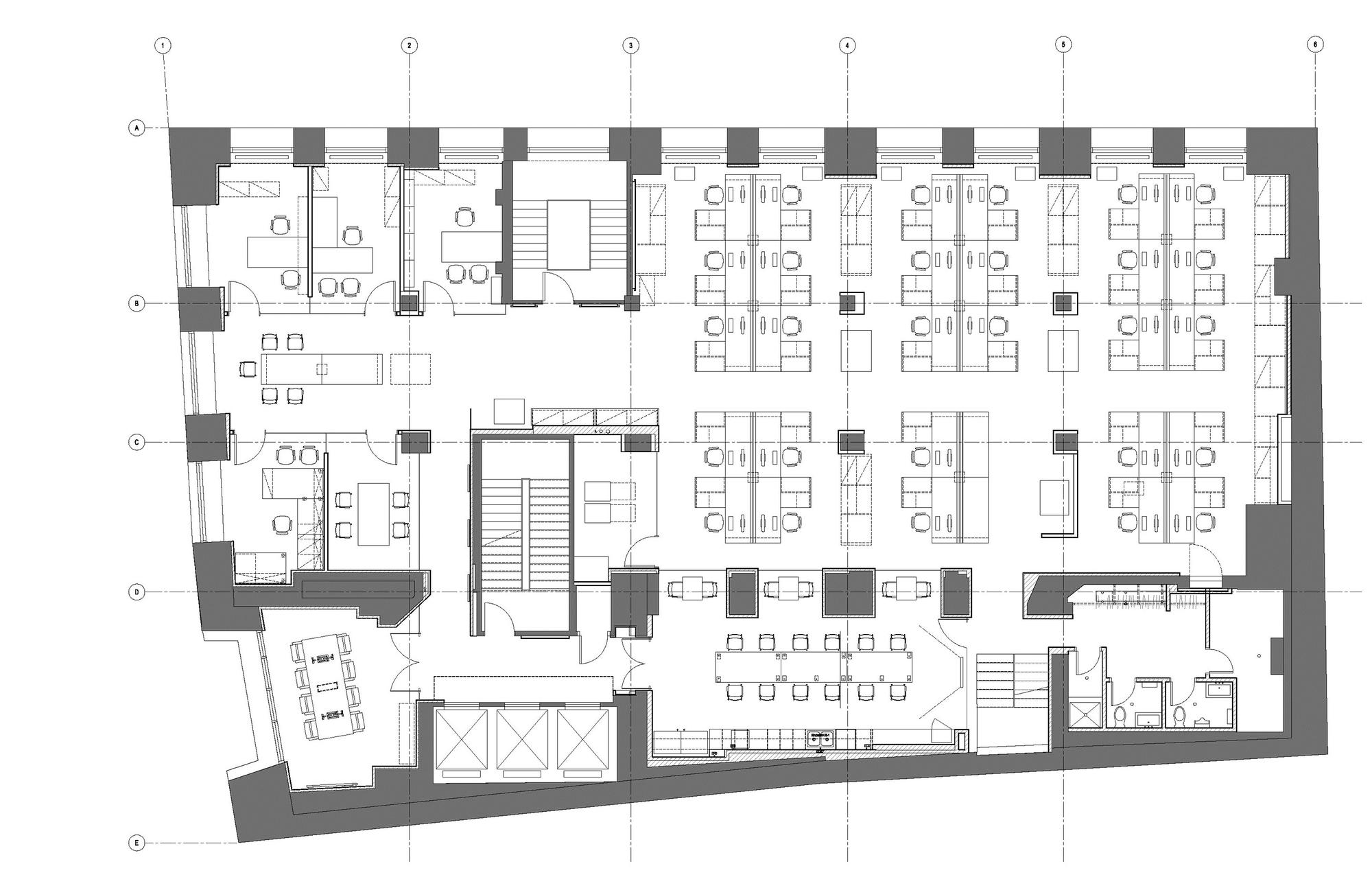 gallery of bureau 100 nfoe 9. Black Bedroom Furniture Sets. Home Design Ideas