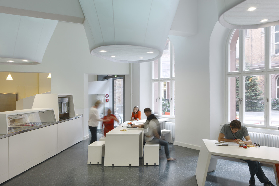 Gallery of sheet lightning cafeteria die baupiloten 5 for The interior design institute