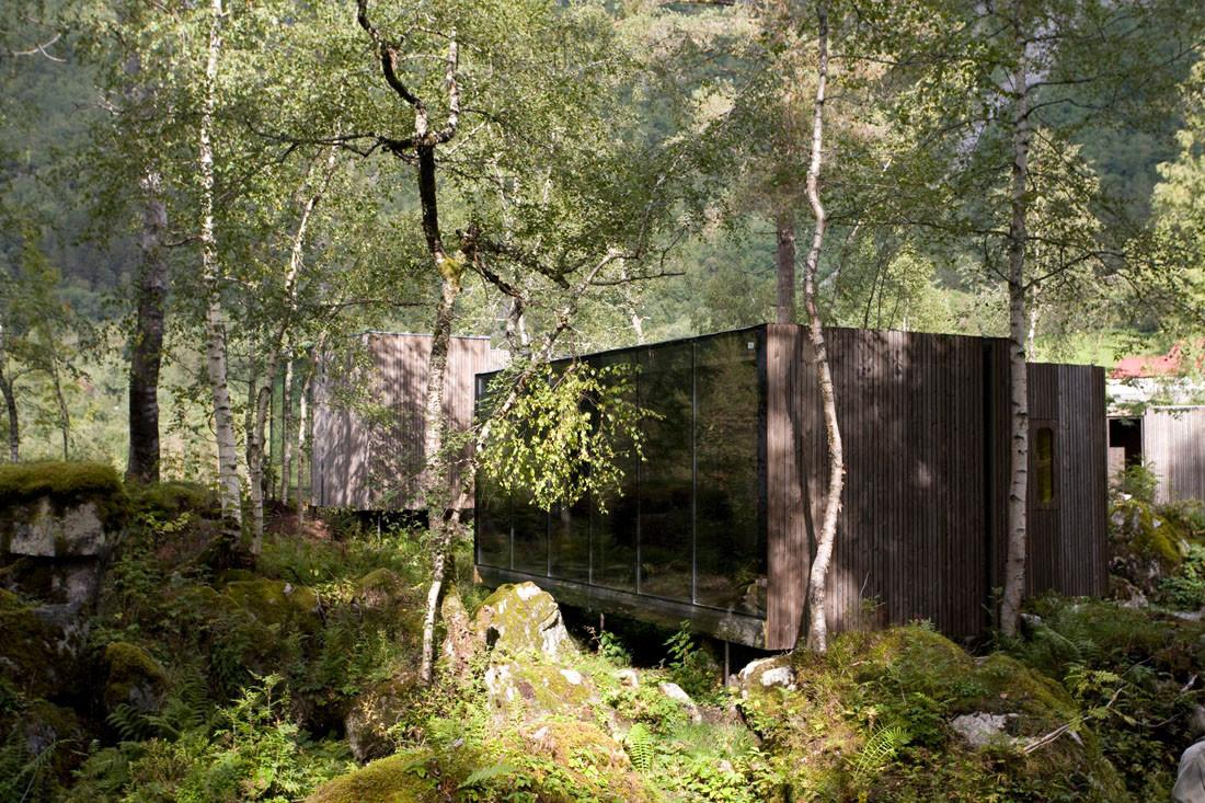 gallery of juvet landscape hotel jsa 23. Black Bedroom Furniture Sets. Home Design Ideas