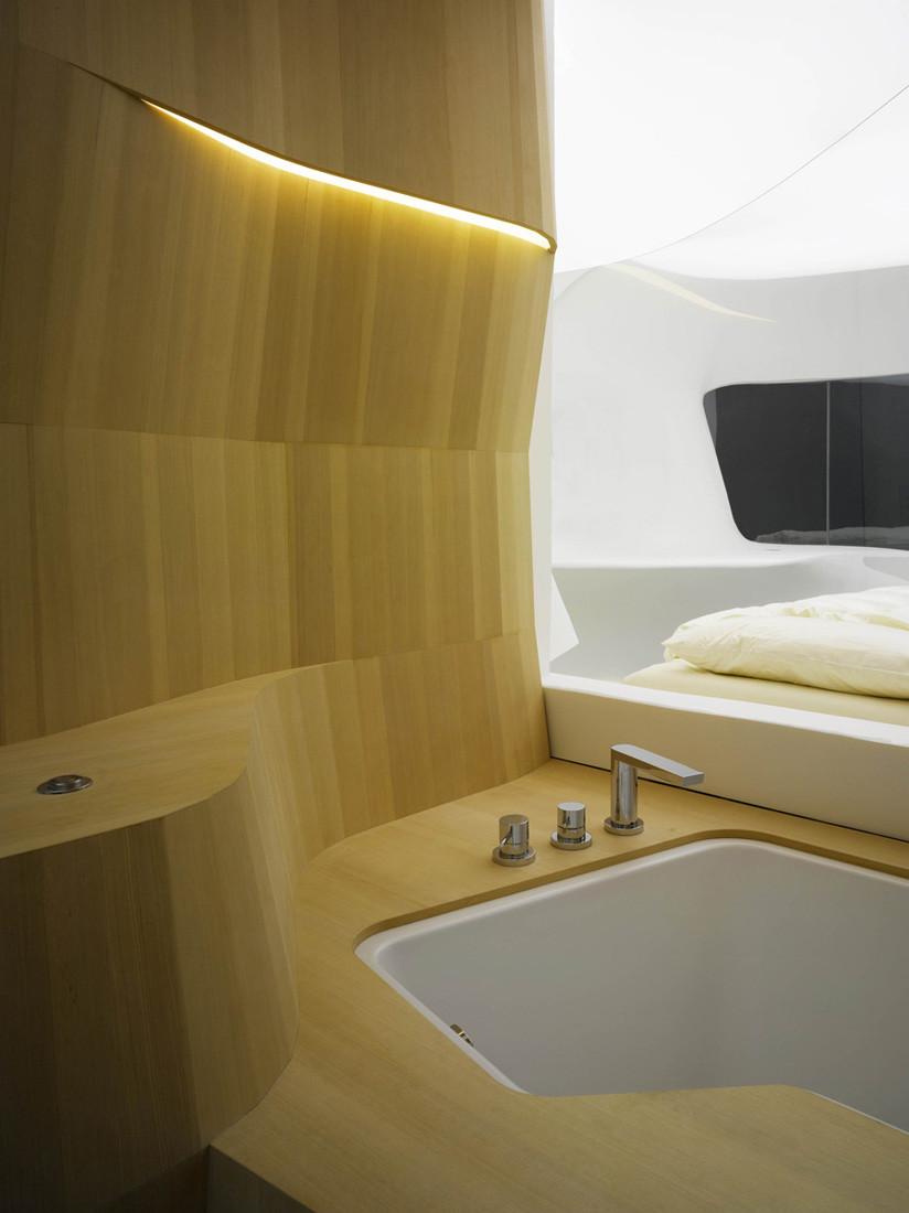 Gallery of future hotel showcase lava 5 for Hotel bathroom design gallery