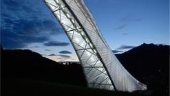 Nova Rampa Olímpica de Esqui em Garmisch-Partenkirchen / terrain: loenhart&mayr