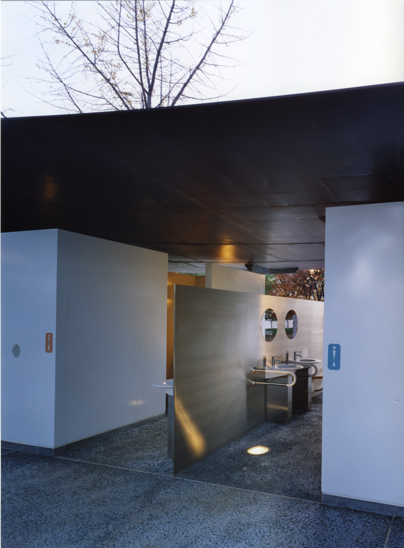 Gallery of halftecture o shuhei endo 4 Public bathroom design architecture