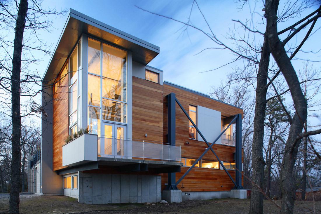 Big Dig House / Single Speed Design