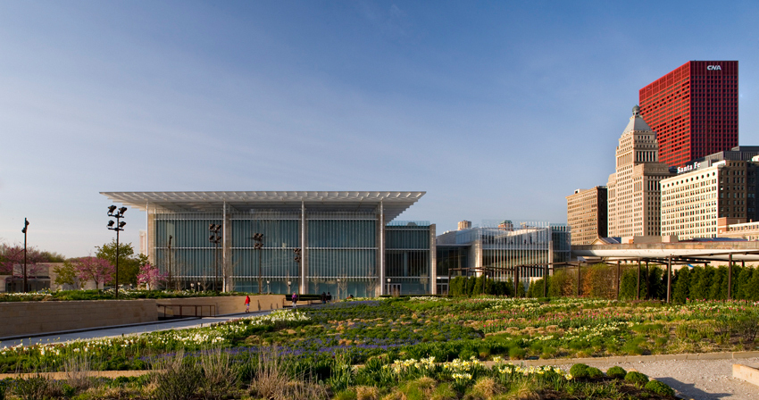 Modern Wing At The Art Insute Of Chicago Renzo Piano Archdaily