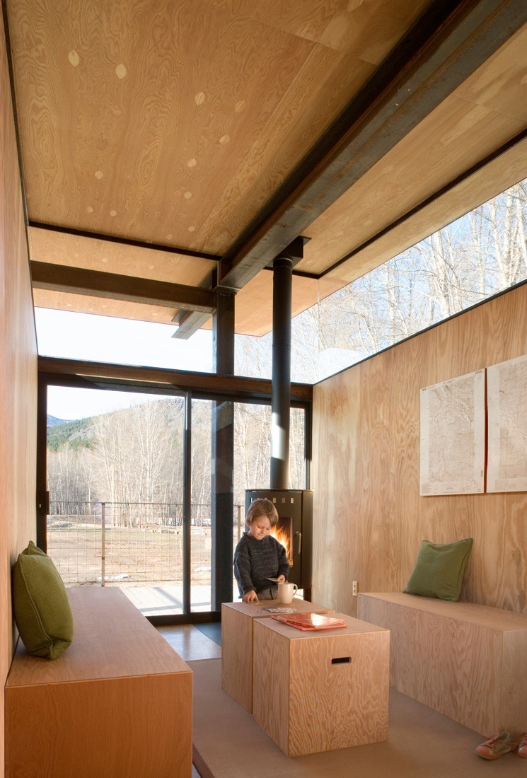 Gallery of rolling huts olson kundig 11 for Tiny house architects