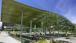 Phoenix Civic Space Shade Canopies / Architekton