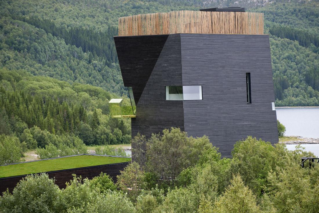 Knut Hamsun Center / Steven Holl Architects