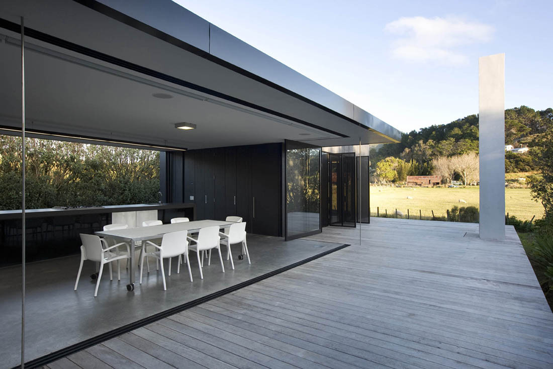 Gallery of sandhills road house fearon hay architects 6 for Modern vacation homes
