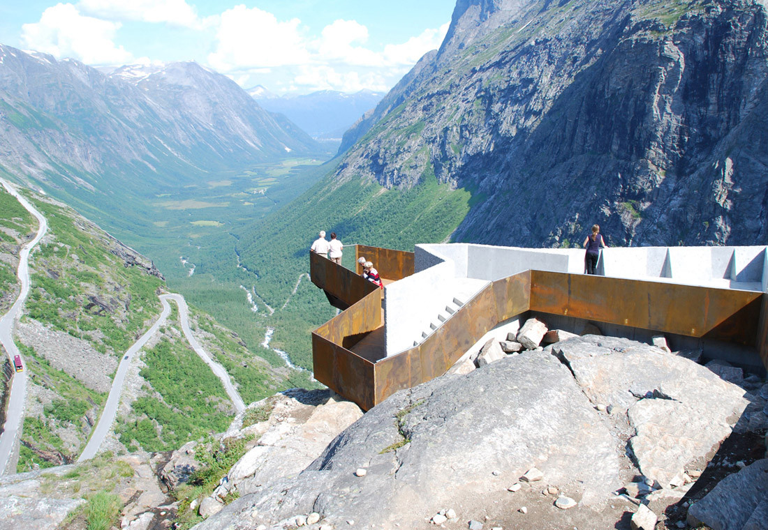 National Tourist Route Trollstigen / Reiulf Ramstad Architects + Oslo Norway, Courtesy of Reiulf Ramstad Architects