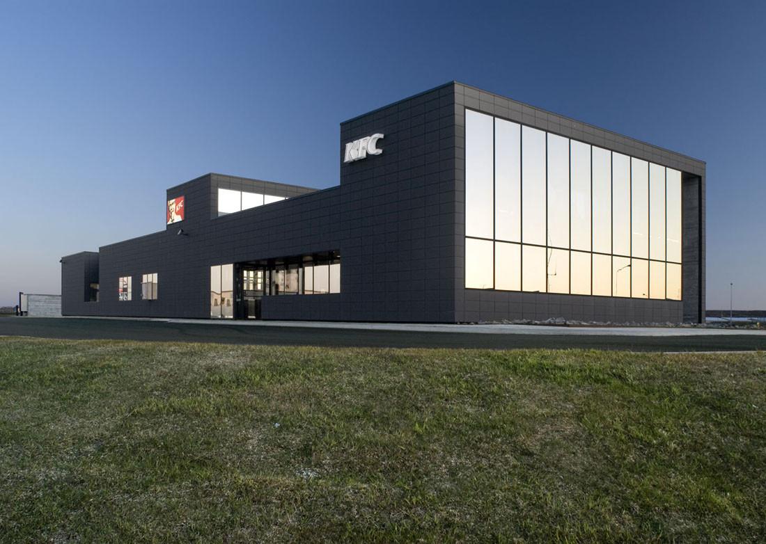 Fast Food Restaurant - KFC / PK Arkitektar