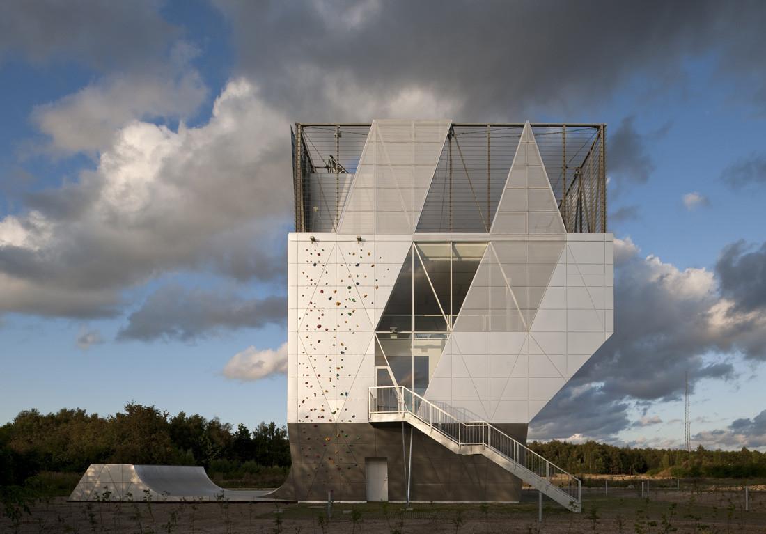 Community centre Herstedlund / Dorte Mandrup Arkitekter, © Adam Mørk