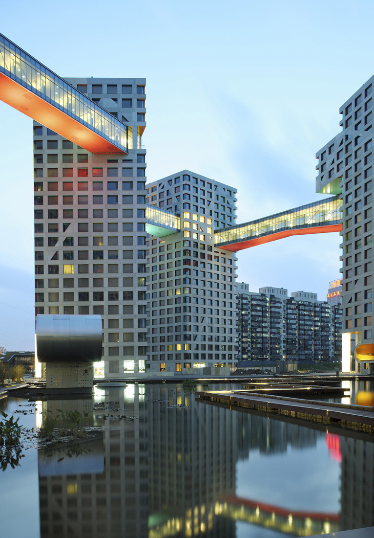Gallery of linked hybrid steven holl architects 18 for Architecture hybride