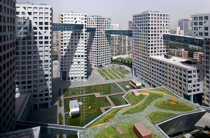 Gallery of linked hybrid steven holl architects 7 for Architecture hybride