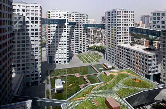Linked hybrid steven holl architects archdaily for Architecture hybride