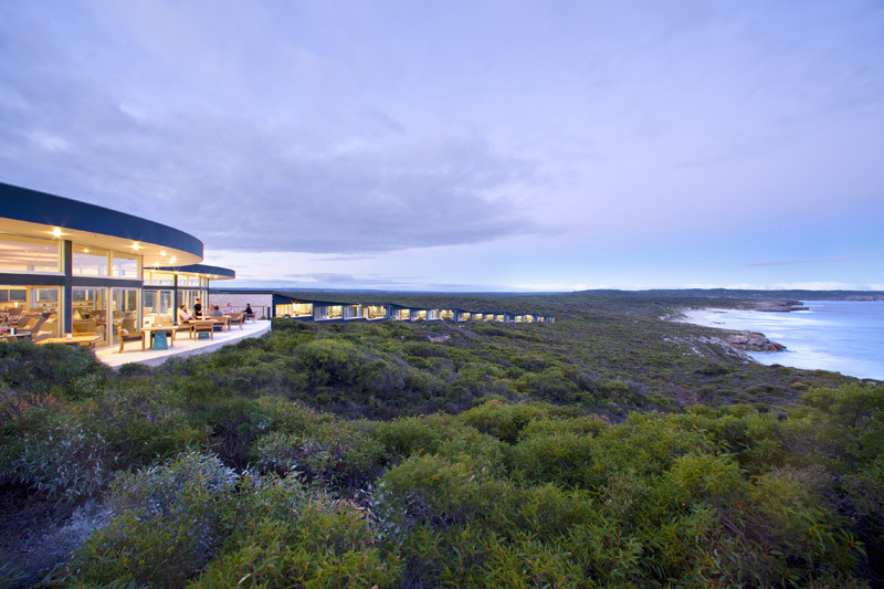 Southern Ocean Lodge / Max Pritchard Architect, © George Apostolidis