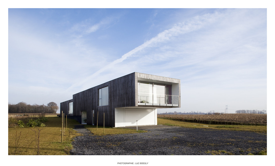 Airstream House / TANK Architectes, © Luc Boegly