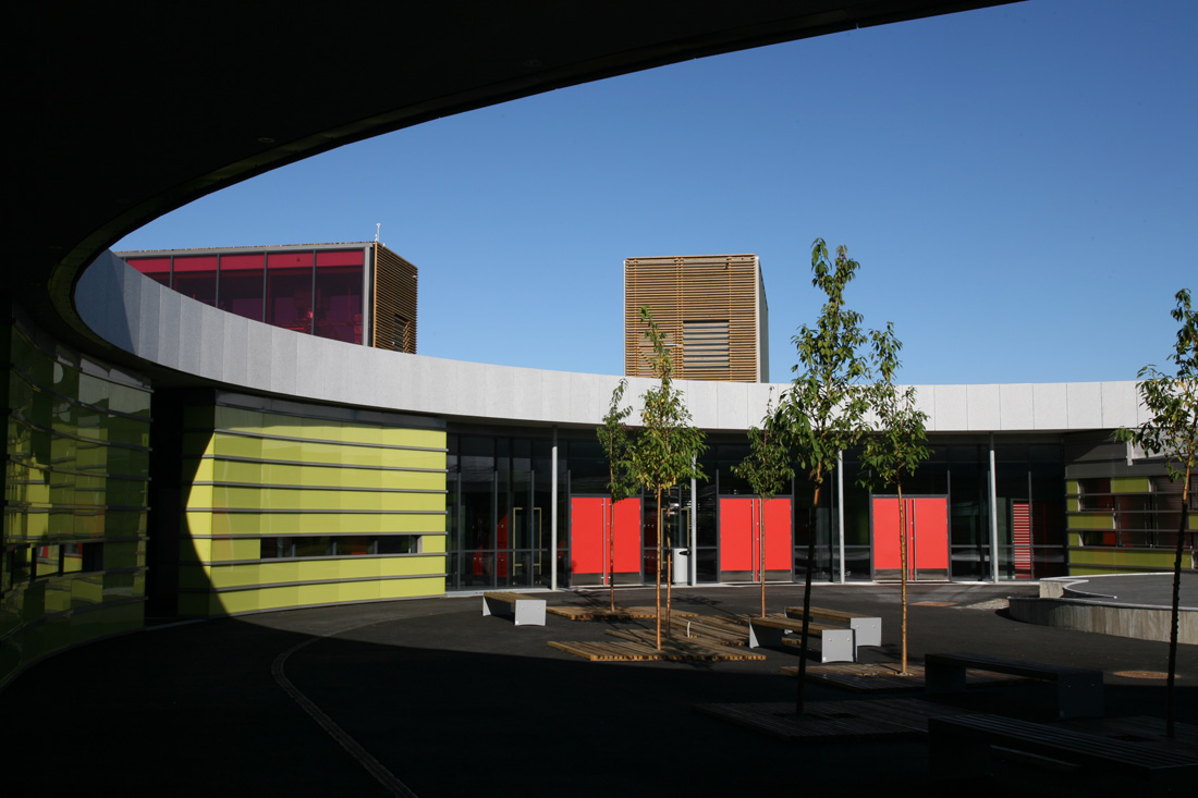 Gjerdrum Secondary School / Kristin Jarmund Architects, © Rune Stokmo, Sonja Middelhuis