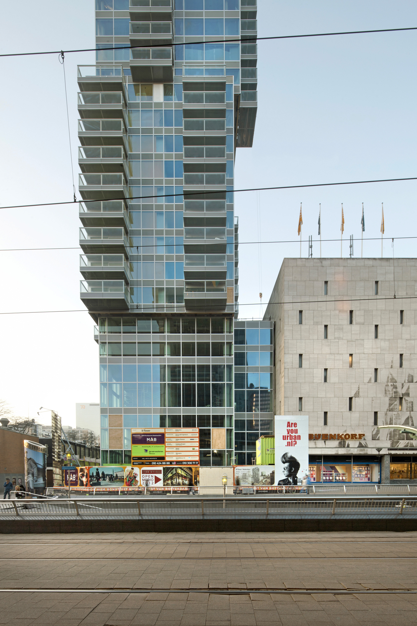 In Progress: B' Tower / Wiel Arets Architects