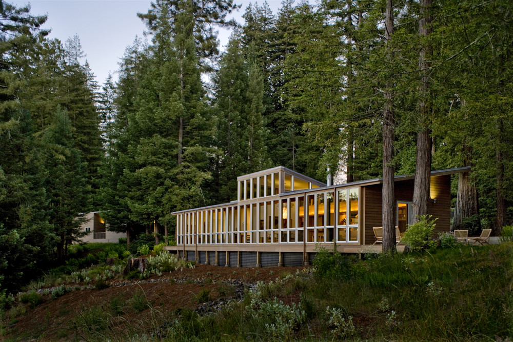 Sebastopol Residence / Turnbull Griffin Haesloop, © David Wakely