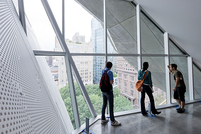 gallery of the cooper union for the advancement of science and art