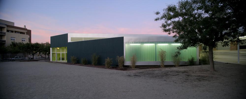 School extension in Tarrega / NUG Arquitectes, © Andrés Flajszer