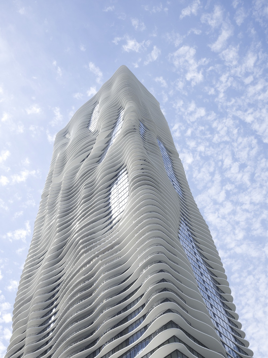 Aqua Tower / Studio Gang, © Hedrich Blessing
