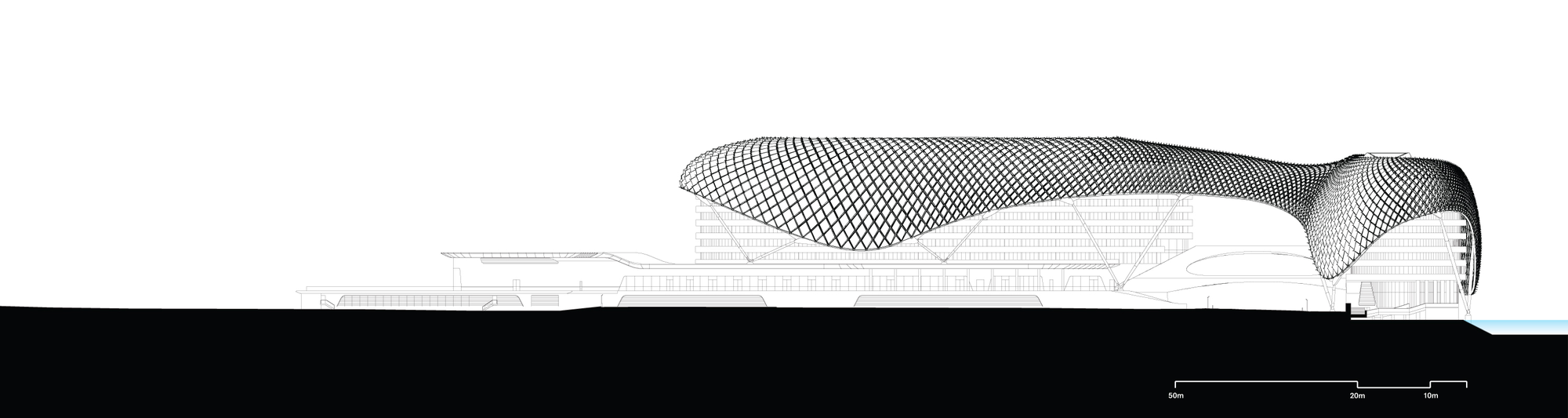 Asymptote Architecture Yas Hotel Of Gallery Of The Yas Hotel Asymptote Architecture 16