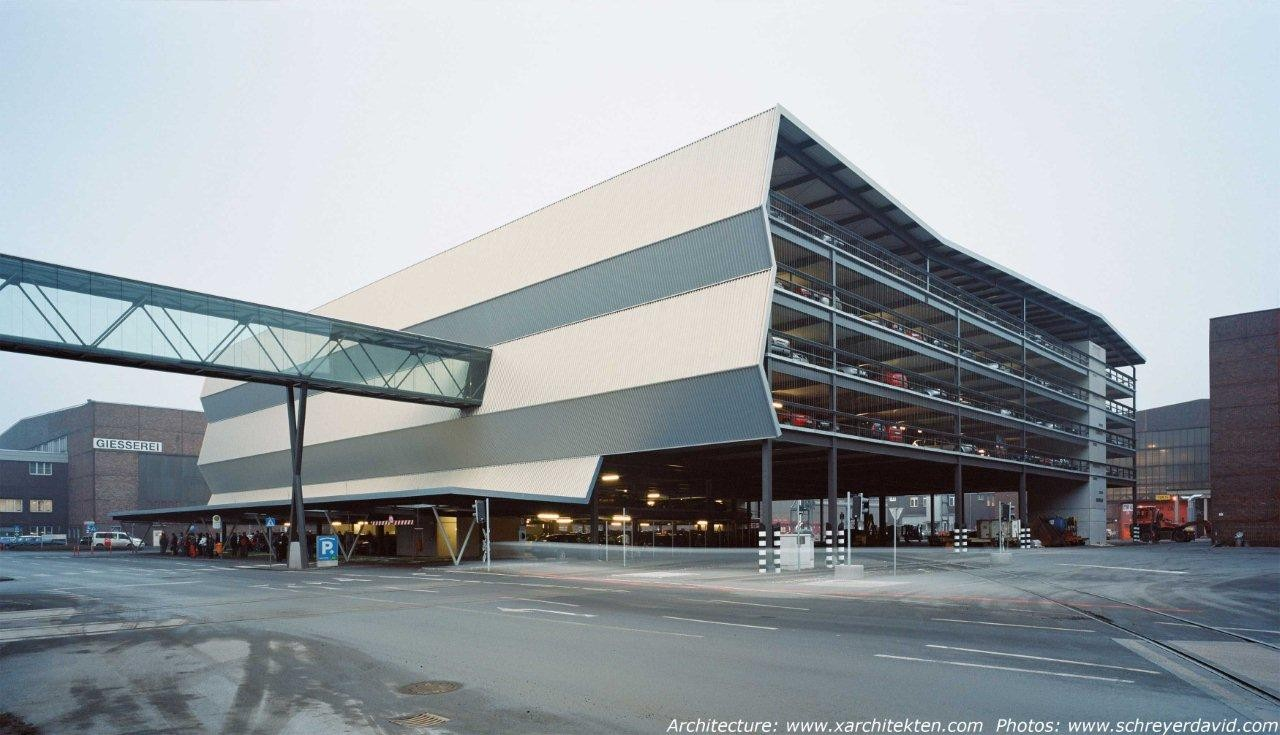 Multi-Level Parking voestalpine / x Architekten, © David Schreyer