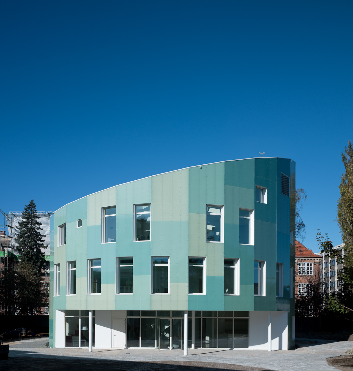 Green Lighthouse, Carbon Neutral Faculty building / Christensen & Co Arkitekter, © Adam Mørk