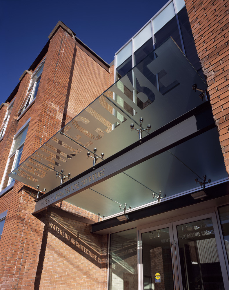 Gallery of waterloo school of architecture levitt for Building canopy design