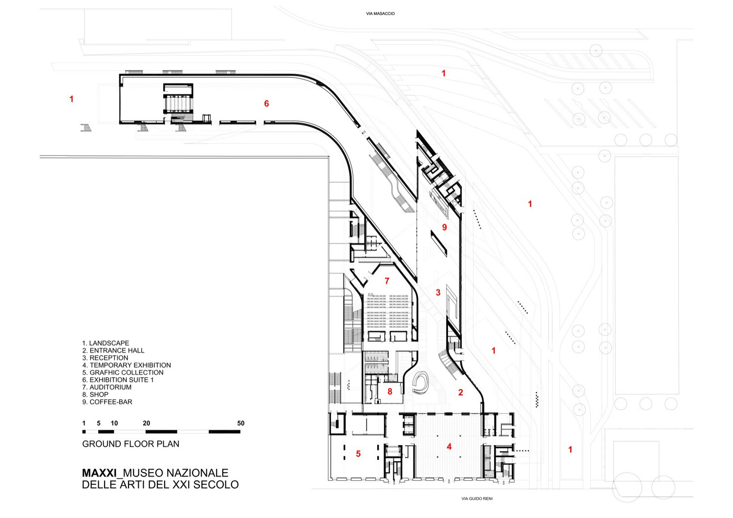531651adc07a80f19a00005f Graft Penda To Break Ground On Myrtle Garden Hotel Photo furthermore 5008b73e28ba0d50da001925 Macquarie Bank Clive Wilkinson Architects Level 02 Floor Plan in addition 59d39faab22e38efb100010b Lego House Big Second Floor Plan likewise 50120daa28ba0d55810003d2 Maxxi Museum Zaha Hadid Architects in addition 55380dc9e58ece7357000024 Multifunctional Building Fondo In Santa Coloma De Grame  Pich Aguilera Architects Diagram 1. on favorite floor plans