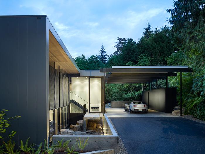 Wood Block Residence / Chadbourne + Doss, © Benjamin Benschneider