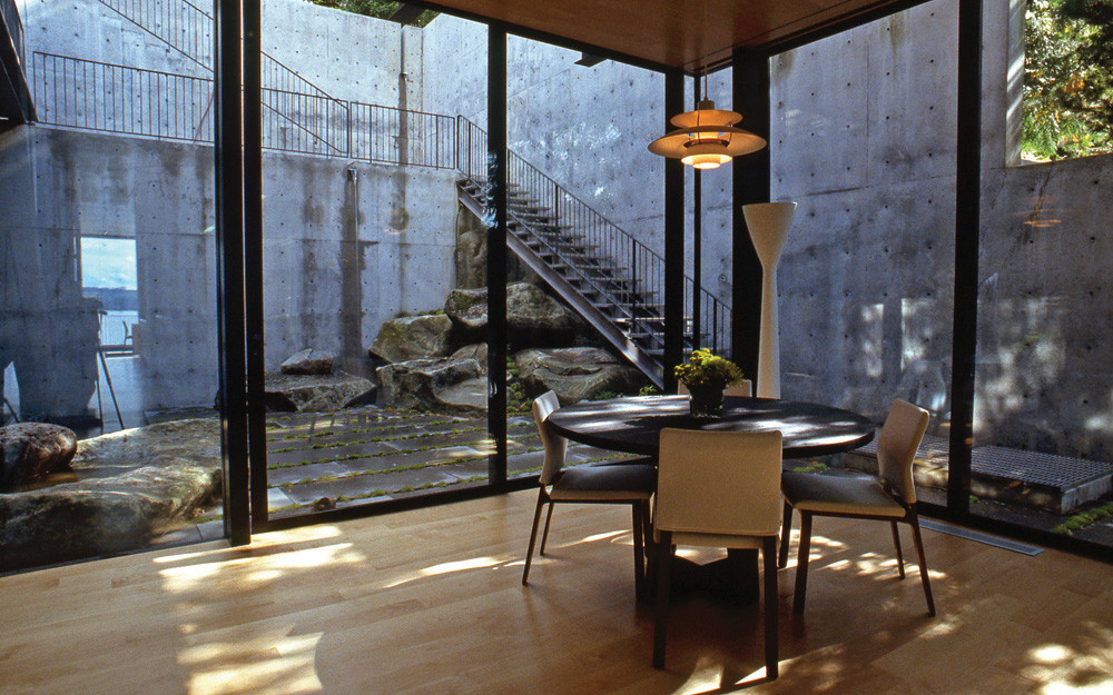 Gallery Of Courtyard House On A Steep Site Hutchison Maul Architecture 13