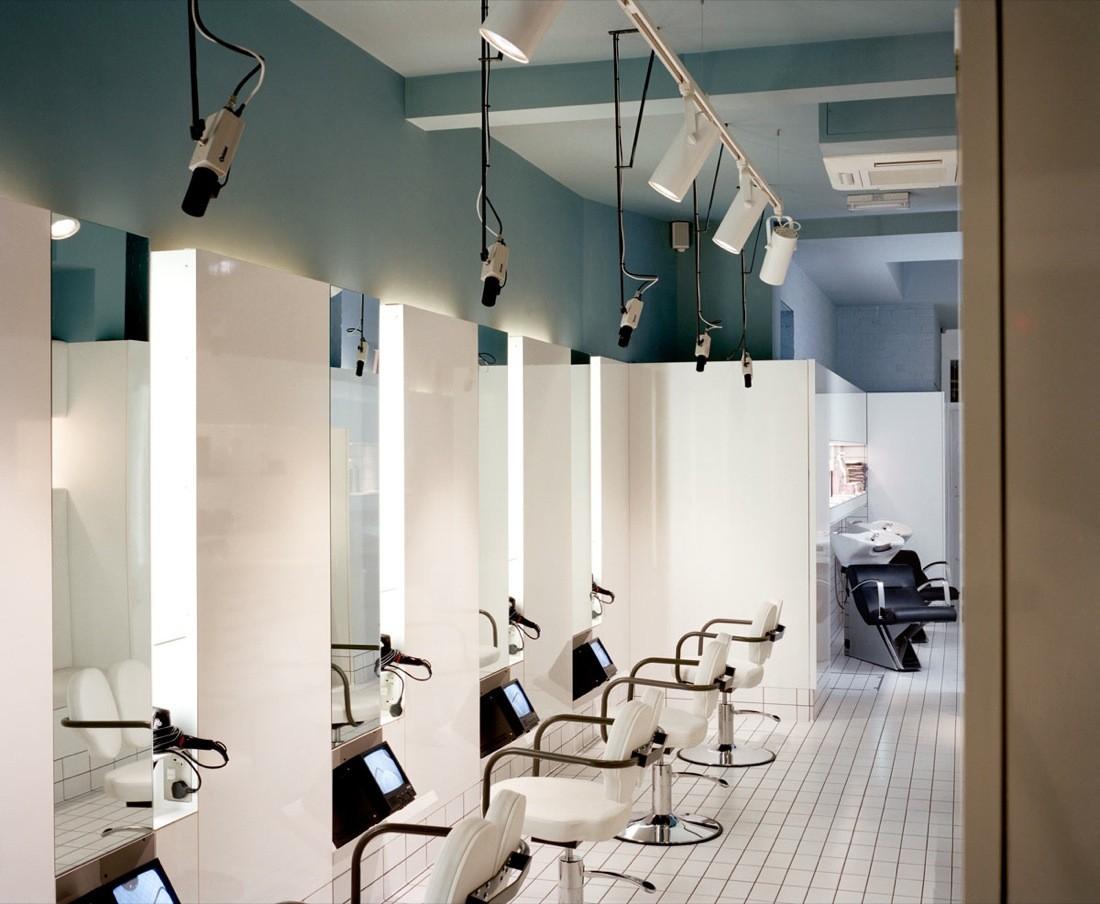 gallery of the klinik hair salon block architecture 10 zoom image view original size