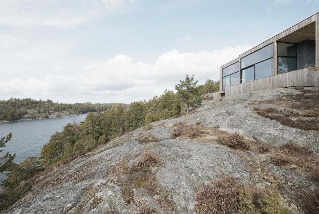 House on a Cliff / Petra Gipp Arkitektur + Katarina Lundeberg, © Åke E:son Lindman