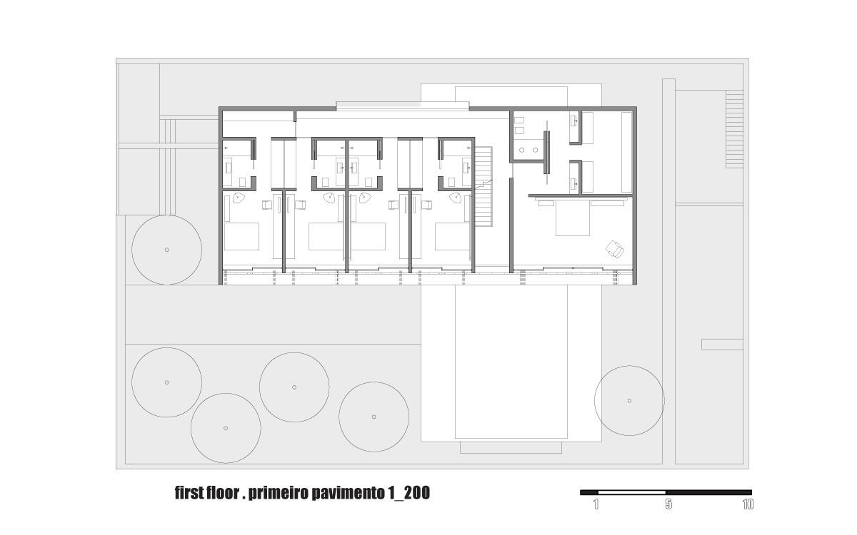 Gallery of house 6 marcio kogan 43 for Marcio kogan plans