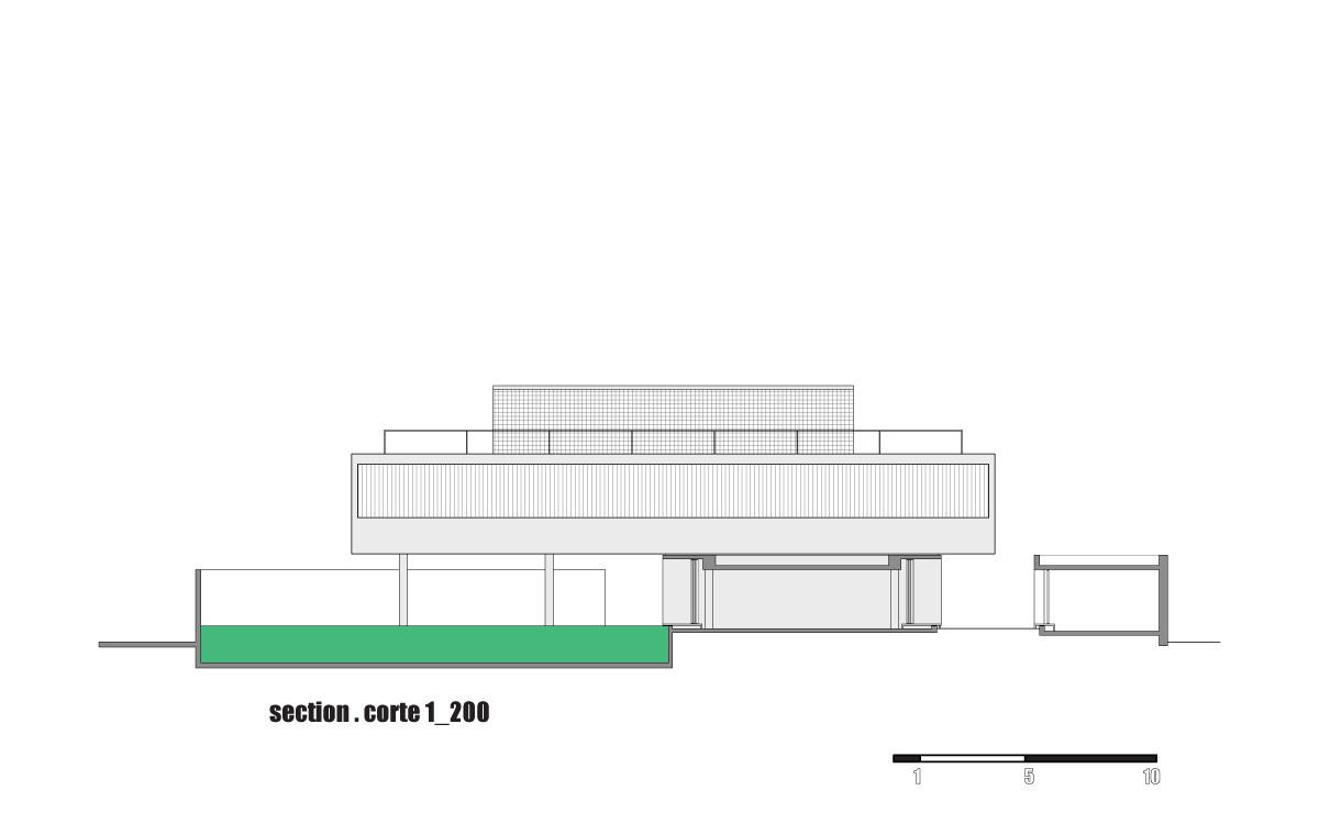 Gallery of house 6 marcio kogan 46 for Marcio kogan plans