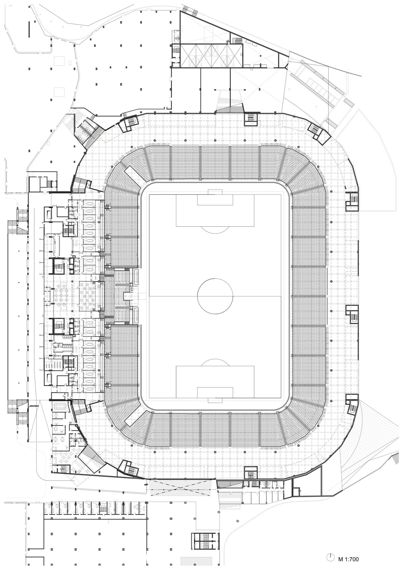 football stadium business plan