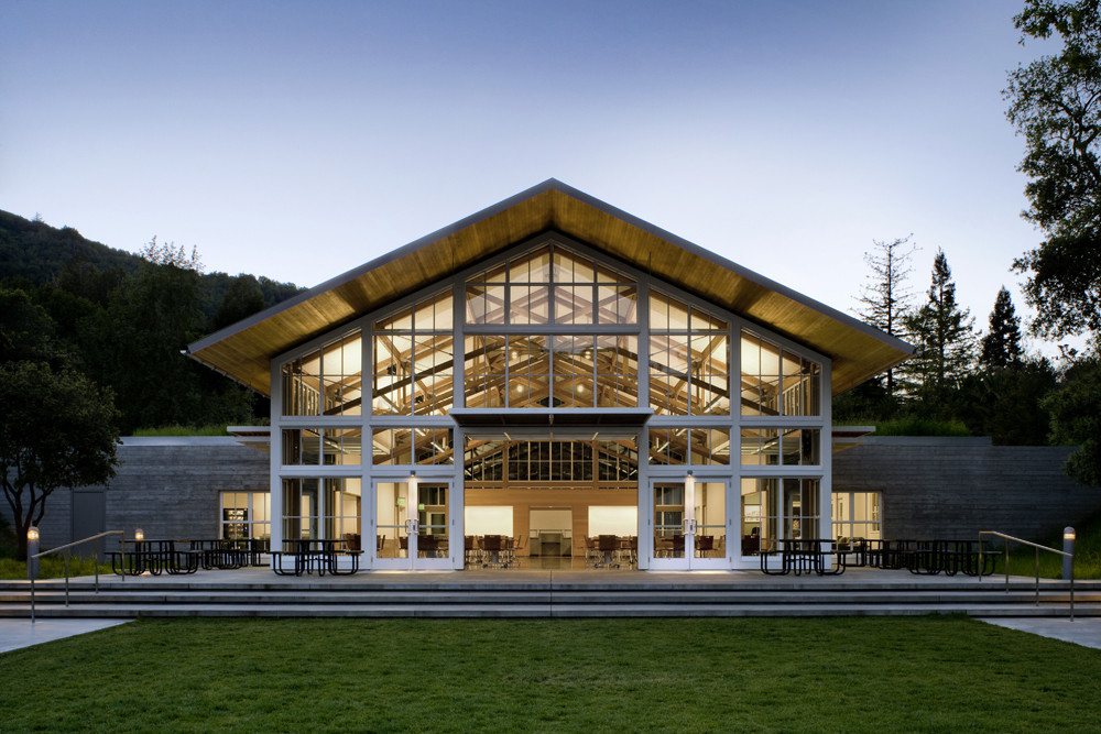 branson school student commons / turnbull griffin haesloop | archdaily