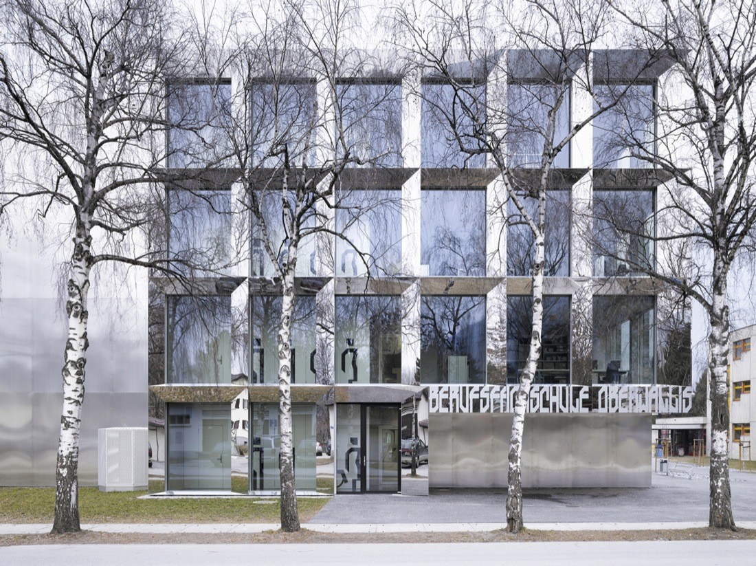Ecole Professionnelle Viège / Bonnard Woeffray Architectes, © Hannes Henz
