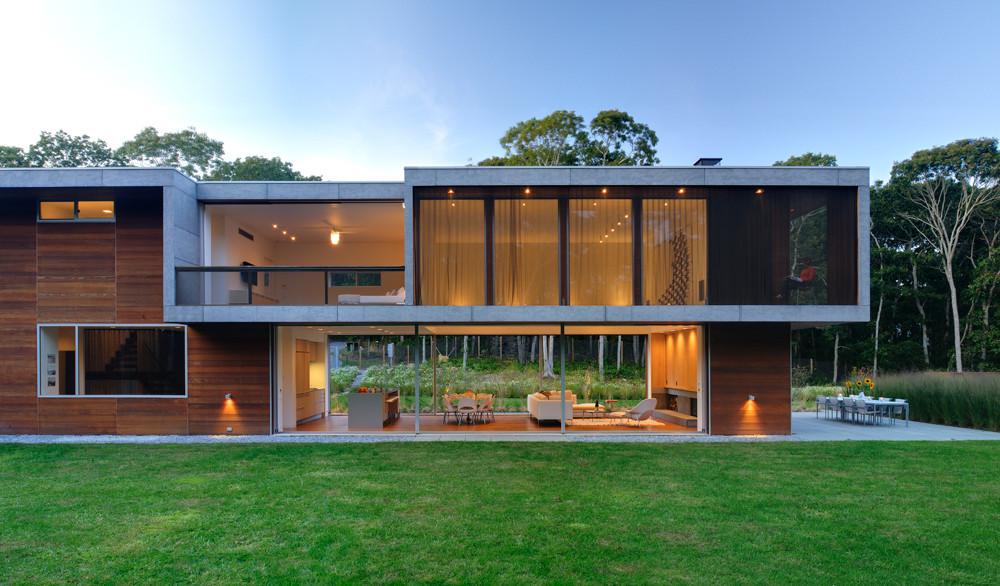 Gallery of pryor residence bates masi architects 15 - Casas de piedra prefabricadas ...